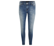 """Jeanshose """"Lonia"""", Skinny Fit, Waschung"""