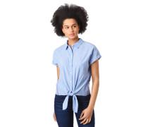 Blusenshirt, Toni Garrn Collection, Streifen, strukturiert, Knoten-Detail, Galonstreifen