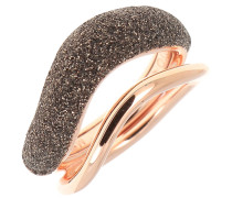 Ring 925 Sterling Silber, PVD Roségold