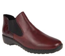 Chelsea-Boots, Leder, Reptilien-Design