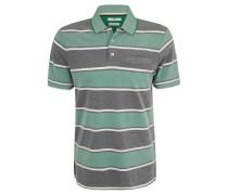 Poloshirt, Piqué, gestreift, Brusttasche
