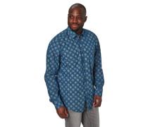 Freizeithemd, Regular Fit, Punkte, Knopf-Brusttasche