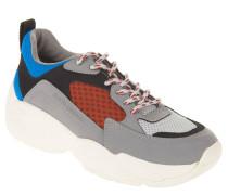 Sneaker, Retro-Look, Schnürung