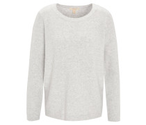 Pullover, Strick, Melange, Woll-Anteil