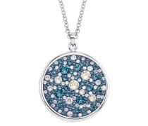 Halskette mit Swarovski® Kristallen in Blau