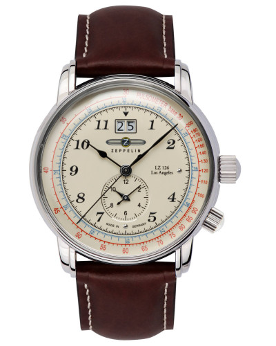 Herrenuhr 8644-5, Dual Time