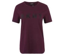 T-Shirt, Baumwolle, Logo-Stickerei