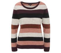 Pullover, Rundhalsschnitt, Streifen