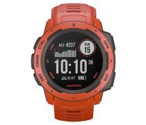 "Smartwatch Armbanduhr ""Instinct Flame Red"" 010-02064-02"
