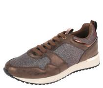Sneaker, Metallic-Look, Glitzer