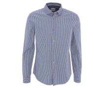 Freizeithemd, Slim Fit, Button-Down-Hemd, kariert