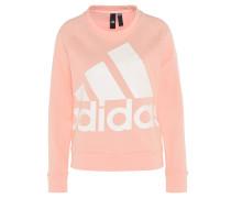 Sweatshirt, Label-Print, Raglanärmel