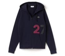 Herren-Kapuzensweatshirt aus Baumwollfleece im Colorblock-Design LACOSTESPORT