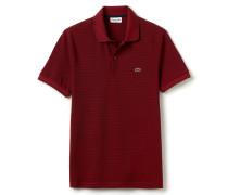 RegularFit Herren-Lacoste-Polo aus gestreiftem Jersey und Piqué