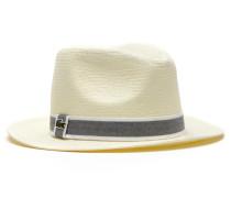 Herren-Panama-Hut aus gewebtem Stroh