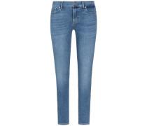 Roxanne 7/8-Jeans Mid Rise Crop Slim Illusion
