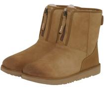Classic Short Front Zip Boots
