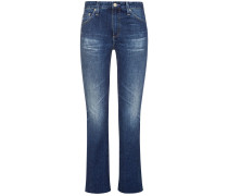 The Jodi 7/8-Jeans High Rise Slim Flare Crop