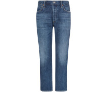 Emery 7/8-Jeans High Rise Relaxed Crop