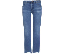 Selena 7/8-Jeans Mid Rise Crop Boot