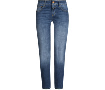 Baker 7/8-Jeans Slim Fit Mid Rise