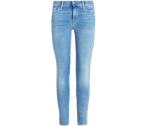 The Skinny Jeans Mid Rise Slim Illusion Crop