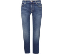 Edie 7/8-Jeans High Waist Crop Straight