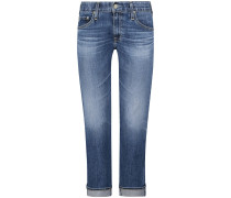 The Ex-Boyfriend 7/8-Jeans Mid Rise Slouchy Slim
