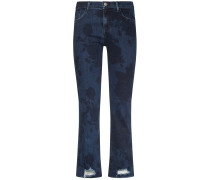Selena 7/8-Jeans Bootcut Mid Rise Crop