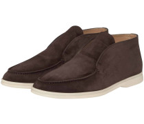 Open Walk Slip On Boots