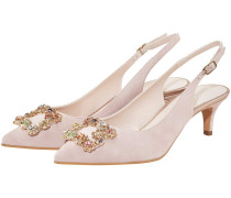 Clavel Cabaret Slingback-Pumps