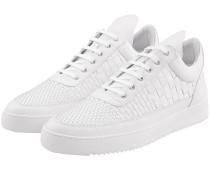 Woven Low Top Ripple Sneaker