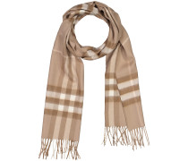 Giant Check Cashmere-Schal