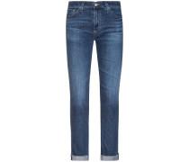 The Prima Cigarette Leg Roll-Up Jeans