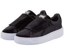 Basket Platform Strap Sneaker