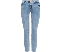 The Skinny Crop 7/8-Jeans Super Skinny Slim Illusion