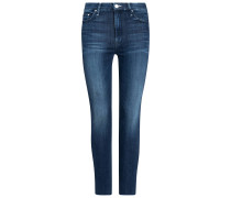 The Looker 7/8-Jeans High Waisted Ankle Fray