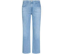 Joan Wide Straight 7/8-Jeans Super High Rise