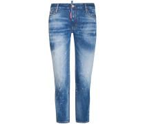 Twiggy 7/8-Jeans Medium Waist