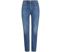 Olivia Jeans High Rise Slim Ankle