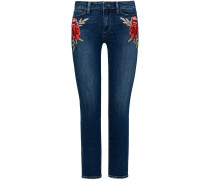 Jacqueline 7/8-Jeans High Rise Straight Crop