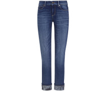 Pina 7/8-Jeans Mid Rise Straight Shot