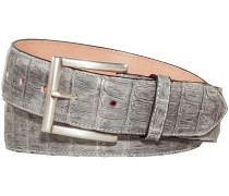 Krokodilleder-Gürtel
