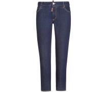 Twiggy 7/8-Jeans Medium Waist Cropped