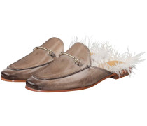 Scarlett 4 Feather Mules