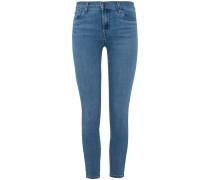Capri 7/8-Jeans Mid Rise Crop Skinny