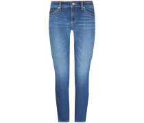 Piper 7/8-Jeans Mid Rise Short Seam