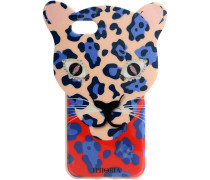 iPhone Case 7 Blue Leopard