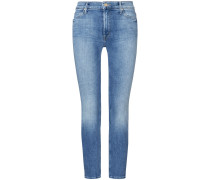 The Mid Rise Dazzler Ankle 7/8-Jeans
