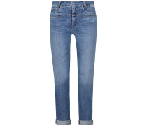 Pearlie 7/8-Jeans Mid Rise